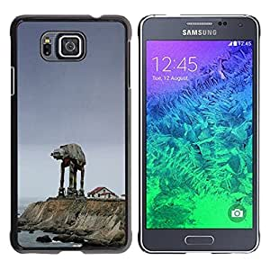 Impact Case Cover with Art Pattern Designs FOR Samsung ALPHA G850 Starwars Mech Betty shop