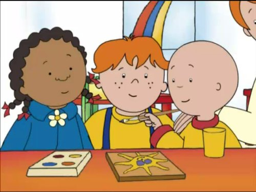 Caillou the Creative]()