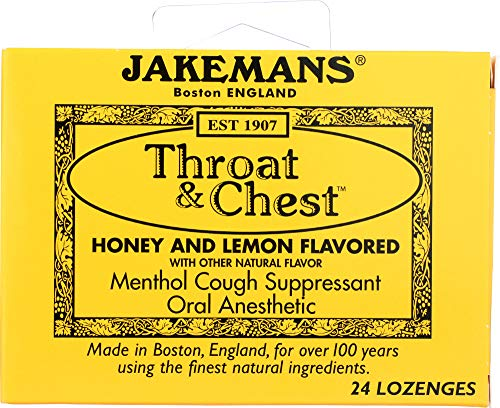 (NOT A CASE) Lozenge Throat and Chest Honey and Lemon, 24 pc
