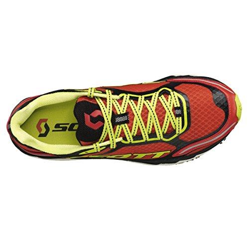Scott - Zapatillas de ciclismo para hombre Rojo rojo