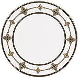 Lenox Vintage Jewel Platinum Banded Bone China 9 Accent Plate