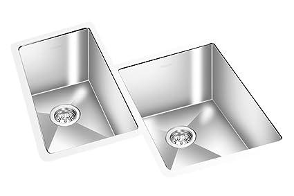 27¾u0026quot; Gemini Brand Stainless Steel Corner Sink, ...