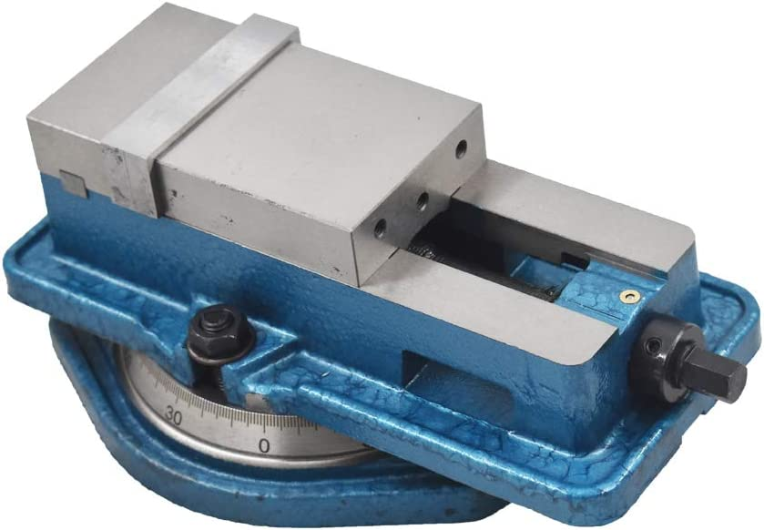 New 3 x 2.95 Precision Mill Vise Anti-Jaw Lifting W//Swivel Base for Milling Shaping and Drilling Machines