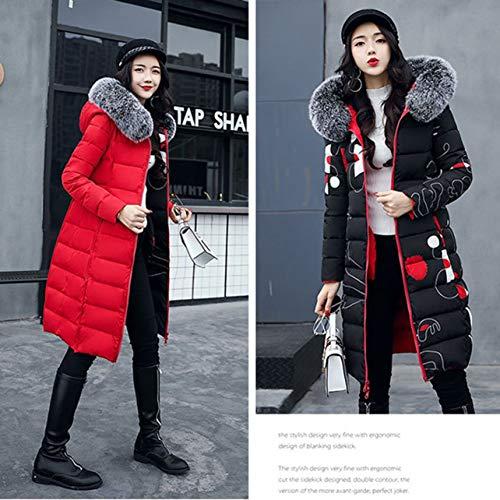 Invernale 2 3xl Wososyeyo amp; Giacca Scaldamuscoli A Da Donna Red Invernali Size Lati E WXqZrq5U