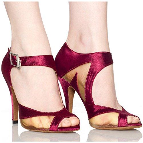10cm mujer salón Miyoopark Purple heel RqTWx7Swg