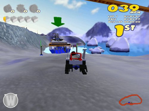 how to play lego racers 2 pc