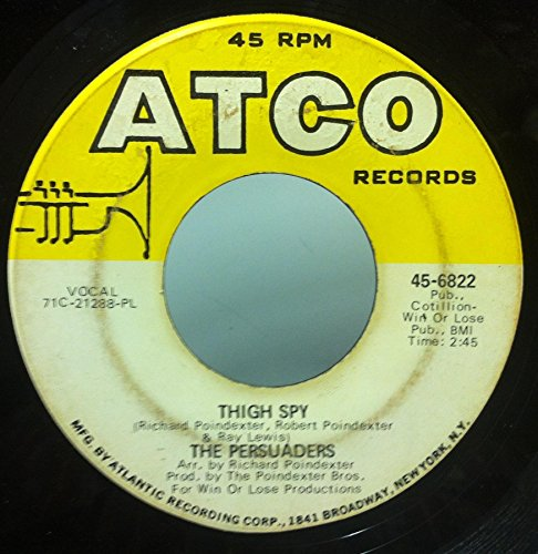 SPY / THIN LINE BETWEEN LOVE & HATE 45 rpm single ()
