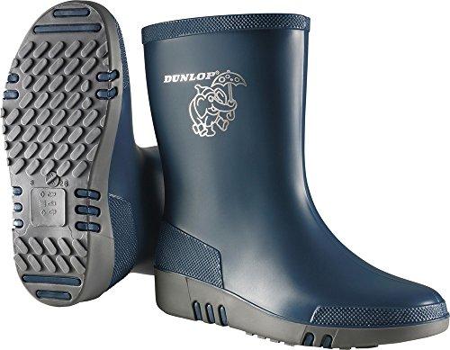 Dunlop Kinderstiefel Blau/Grau Gr.24