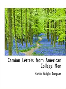 Camion Letters from American College Men: Martin Wright Sampson