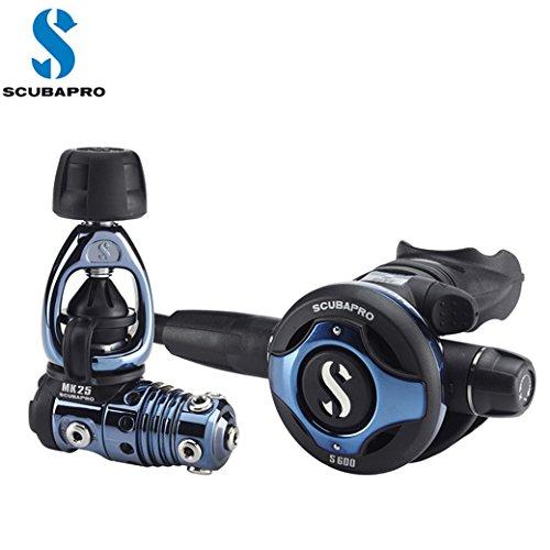 人気ブランドのおすすめレギュレーター6選 SCUBAPRO(スキューバプロ) 12-950-060 MK25DB/S600DB DEEP BLUE レギュレーター