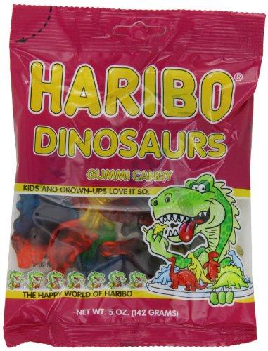 Haribo Dinosaurs Gummi Candy 5oz (3 Pack)