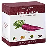 Exotic Vegetables Grow Kit - 5 Unique Plants To Grow From Seed. Complete Gardening Starter Set For Kids and Adults. Unique Holiday Present For Boys and Girls, Men and Women. Best Growth Rates