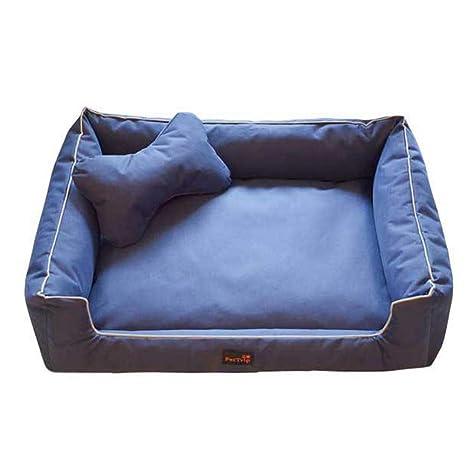 ZDJR Sofá Cama para Mascotas, sofá cómodo de Tela Oxford con ...