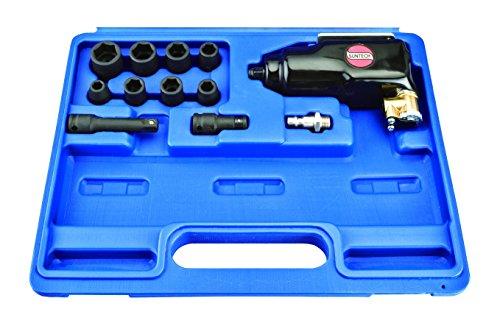 SUNTECH SM-401AK Air Butterfly Impact Wrench Kit with Heavy Duty, Black, 3/8'' by SUNTECH