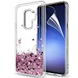 Samsung Galaxy S9 Plus Glitter Case with HD Screen...
