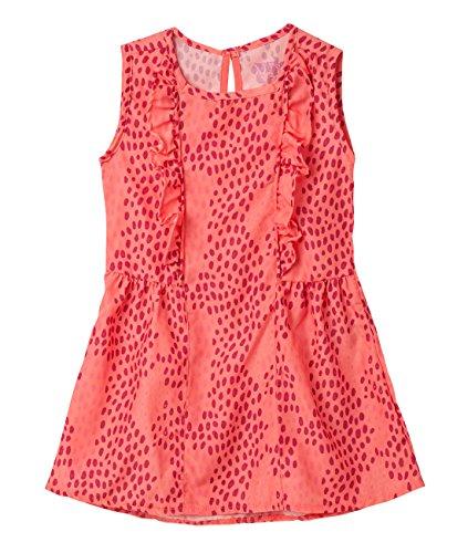 OFFCORSS Toddler Baby Girl Swimming Suit Cute Cover up UV Protection Summer Beach Dress Swimwear Trajes de Baño de Verano Para Niñas Bebe Pink 3T