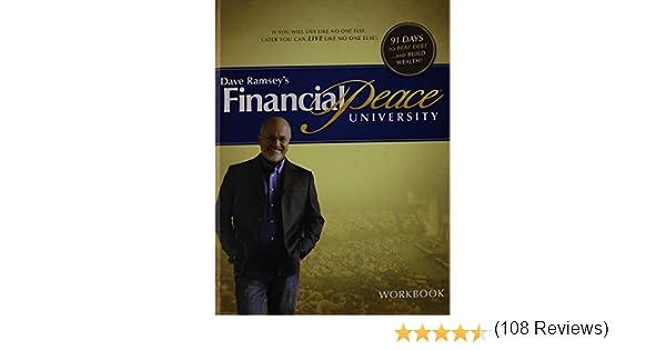 Dave Ramseys Financial Peace University Workbook: Dave Ramsey ...