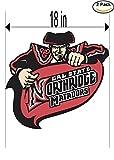 Cal State Northridge Matadors University Vinyl Sticker Decal Logo NCAA 2 Window Stickers 18 Inches