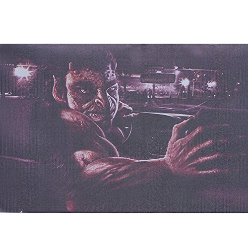 ATMOMO Horror Monster 3D Transparent Car Back Rear Window Decal Vinyl Sticker for Happy Halloween