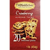 THINaddictives cranberry almond 20 pack-1lb(454g)