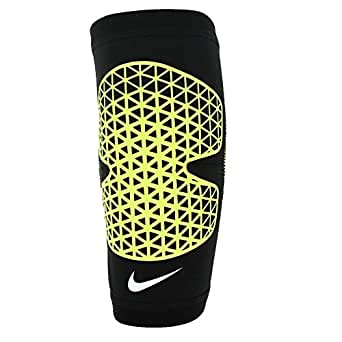 Nike Neqp-Nms3502-3Lg Pro Combat Elbow Sleeve, Green/Black N.MS.35.023 Large