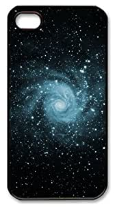 iphone 4 case cute covers Skyviews Space Swirl PC Black for Apple iPhone 4/4S