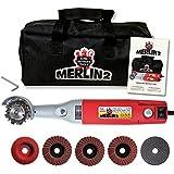 King Arthur's Tools 10005 Merlin 2 Mini Grinder Carving Kit