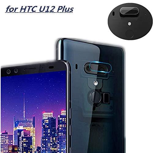 For HTC U12 Plus Camera Screen Protector Tempered Glass, [2pack] Ultra Clear Phone Camera Protective Film for HTC U12 Plus ()