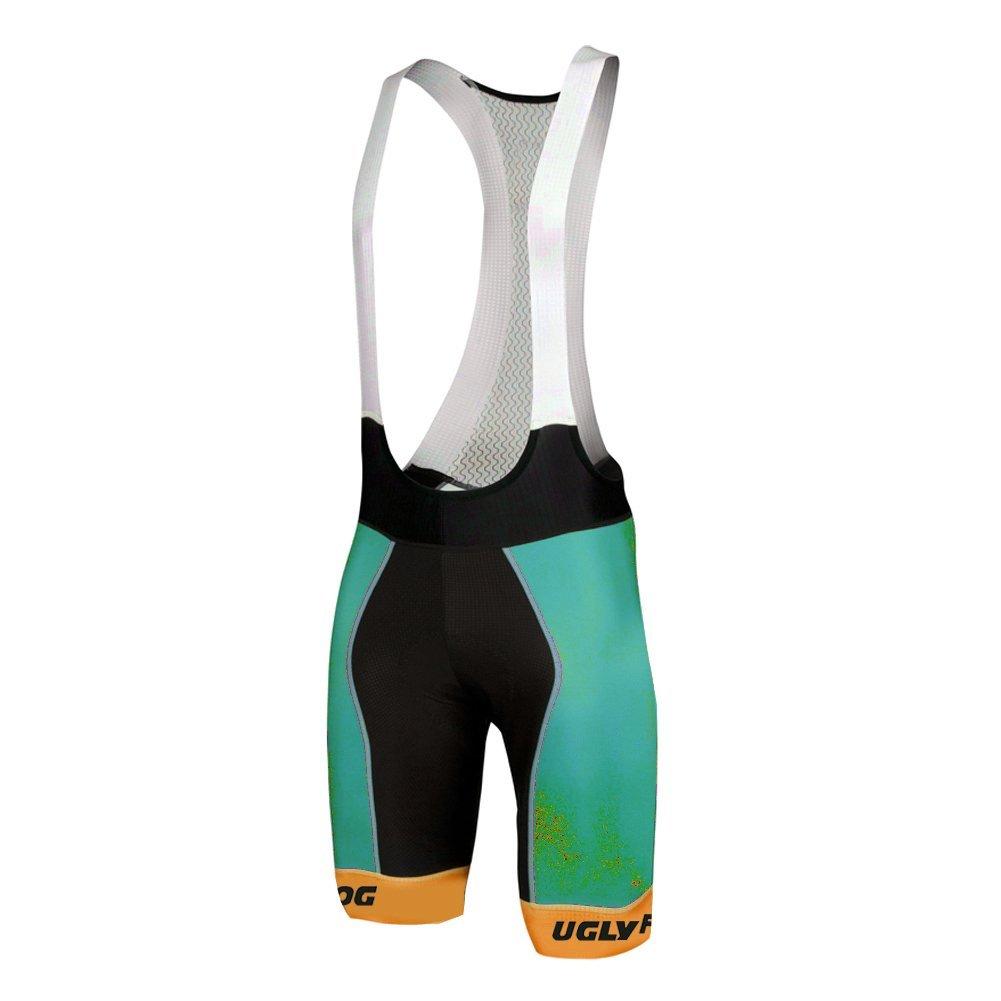 Pantal/ón Corto Para Hombre Bib Shorts with Gel Pad HBS11 Uglyfrog Bike Wear
