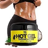 Best Fat Burner Cream For Bellies - Hot Vita Thermogenic Enhanced Sweat Gel - Slimming Review