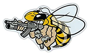 """Magnetic Bumper Sticker - United States Navy Seabees - Sea Bees, Construction Battalion Forces CB - 6"""" x 3.5"""" from Crazy Sticker Guy"""