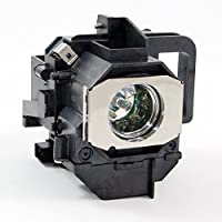 Epson V13H010L49 Projector Lamp Replacement Assembly with Original Osram P-VIP Bulb Inside.