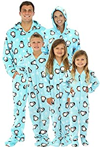 SleepytimePjs Family Matching Penguin Onesie PJs Footed Pajamas