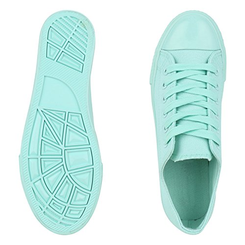 Japado Men's Low-Top Sneakers Hellgrün Verde m3YOXgXYUg