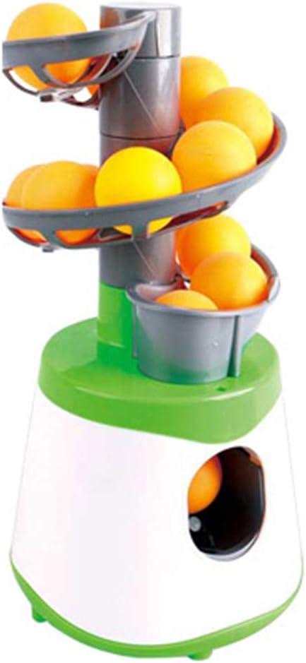 ADDG Juguetes de Pong Launcher Mesa de Ping Pong Bola del Ejercicio niños de la máquina
