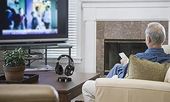 Noontec Hammo TV Auriculares inalámbricos para TV(Reducción de Ruido) Sistema Anti-interferencias: Amazon.es: Electrónica