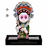 LINA-Tower cartoon mud traditional Chinese ornaments Business Gifts human hand (h16l11cm),model13