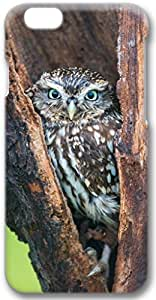 Owl In Tree Apple iPhone 6 Plus Case, 3D iPhone 6 Plus Cases Hard Shell Cover Skin Casess hjbrhga1544