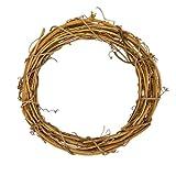 "Darice GPV10 Grapevine Wreath, Natural, 10"", 1ct"