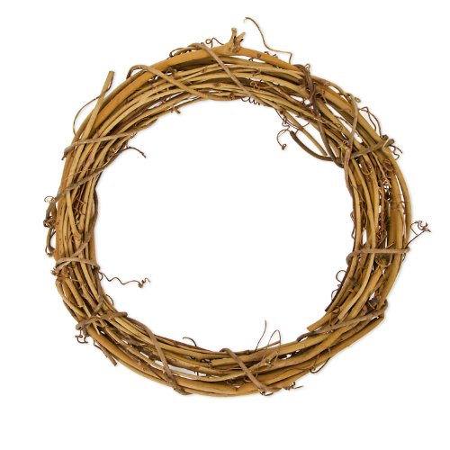 - Darice GPV10 Grapevine Wreath, 10-Inch