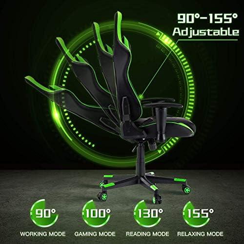 Best computer gaming chair: BHUTAN Gaming Chair Racing Office Chair Executive Ergonomic Swivel Task Chair PC Computer Desk Chair Reclining High Back