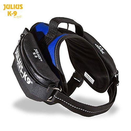 Julius-K9 1621IDC-K IDC Universal side bags/Pair, Mini, Black by Julius-K9
