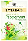 Twinings Pure Peppermint Herbal Tea, 1.41-Ounce Boxes (Pack of 6)