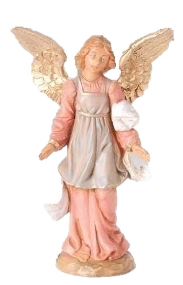 Roman Fontanini 5'' Standing Angel Christmas Nativity Figurine #72519