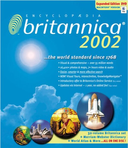 Encyclopedia Britannica 2002 Expanded Edition (DVD-ROM)