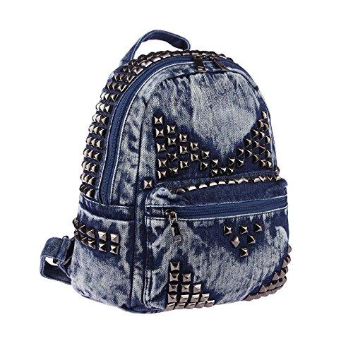 OBC Only-Beautiful-Couture - Bolso mochila para mujer azul azul ca.: 30x35x15 cm (BxHxT) azul