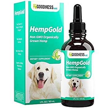 Amazon Com Hemp Oil For Dogs And Cats 500 Mg Zero