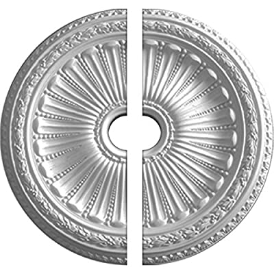 "Ekena Millwork 35 1/8""OD x 4 7/8""ID x 2 1/2""P Viceroy Ceiling Medallion"