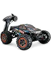Hosim Large Size 1:10 Scale High Speed 46km/h 4WD 2.4Ghz Remote Control Truck 9125, Radio Controlled Off-Road RC Car Electronic Monster Truck R/C RTR