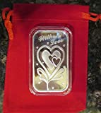 With Love-1-oz-Silver Bar (In capsule) with Gift Bag